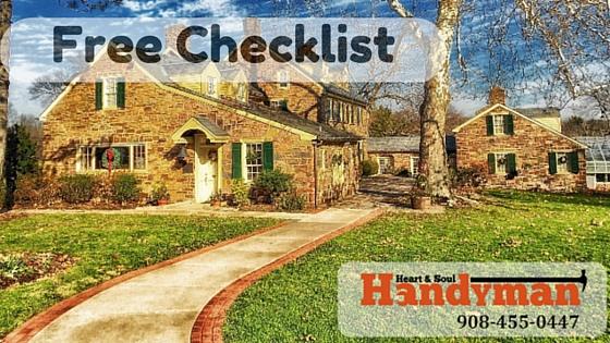 Fall and winter checklist
